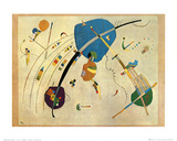 Vers Le Blue, c.1939 Prints by Wassily Kandinsky