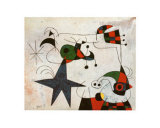 Joan Miró - Rythme Passage du Serpent - Poster