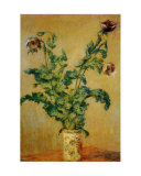 Purple Poppies Posters by Claude Monet