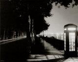 London Embankment At Night Posters