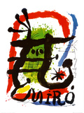 Affiche lithographie Affiches par Joan Mir&#243;