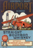 Airport Straight Bourbon Poster