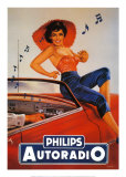 Philips Autoradio Poster