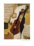 Cello Poster van Rosina Wachtmeister
