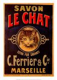 Savon Le Chat Poster