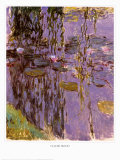 Nympheas Posters by Claude Monet
