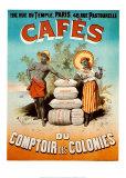 Cafeterías y cabarets Pósters