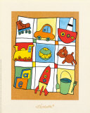 Toys Print by Babette Harms