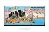 San Francisco Poster by Melvyn Evans