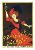 Absinthe Ducros Fils Posters by Leonetto Cappiello