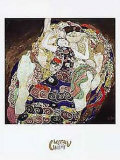 Young Ladies Prints by Gustav Klimt