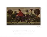 Bicicleta para dos Póster por Paul Greenwood