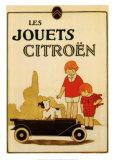 Spielzeugauto von Citroën Kunstdrucke