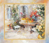 Idyllic Garden Poster by Willem Haenraets