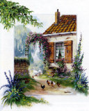 Farmers Courtyard Prints by Reint Withaar