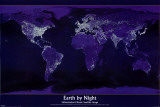 Earth by Night Pôsteres