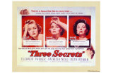Three Secrets Posters