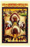 Buffalo Bill Kunstdrucke