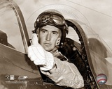 Ted Williams - Fighter Pilot (sepia) Photo