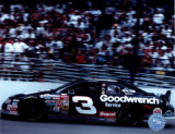 Dale Earnhardt Car On Track - Side View Photo