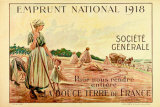 1918 Emprunt National Art