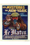Les mystères de New-York Affiches