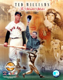 "Ted Williams - ""PF Gold""/LE Photo"
