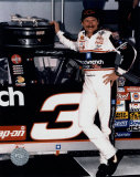 Dale Earnhardt Portrait In Daytona Victory Lane Photo