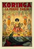 Koringa, La Femme Fakir Prints