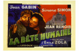 La Bete Humaine Posters