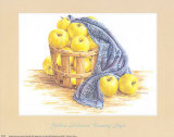 Golden Delicious Country Style Prints by Audrey Ascenzo
