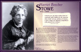 Writers Who Changed the World - Harriet Beecher Stowe Posters