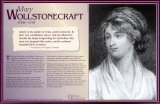 Mary Wollstonecraft - Writers Who Changed the World Wall Poster