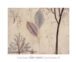 Lyrical Branches III Prints by Mary Calkins