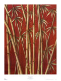 Thai Bamboo I Poster by Rafael Serreno