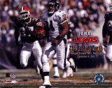 Jamal Lewis - NFL Single Game Rushing Record of 295 yds on September 14, 2003 Photo