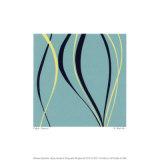 Aqua Azure Serigrafie von Denise Duplock