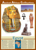 Ancient African Civilizations - Egypt Posters