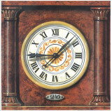 Clock II Prints by  Manso