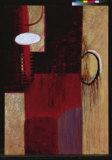 Rot und Schwarz II Kunstdrucke von Jack Roth