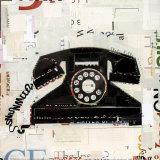 Vintage Collage V Posters par Danny O.