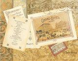 Grand Hôtel Nice Posters par Pamela Gladding
