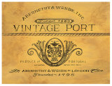 Vintage Port Posters by Angela Staehling