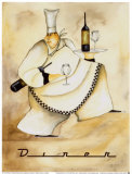 Diner Chef Prints by Jennifer Garant