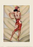 Danceuse gracieuse Posters par  Gill