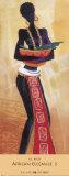 Elegancia africana II Láminas por Lee White
