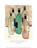 Elegant Wines II Posters by Sam Dixon