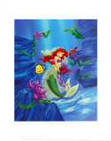 Ariel, Dreams Under the Sea Print