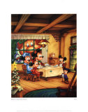 Mickey&#39;s Christmas Carol Prints