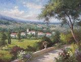 Villa Flora III Prints by  Andino